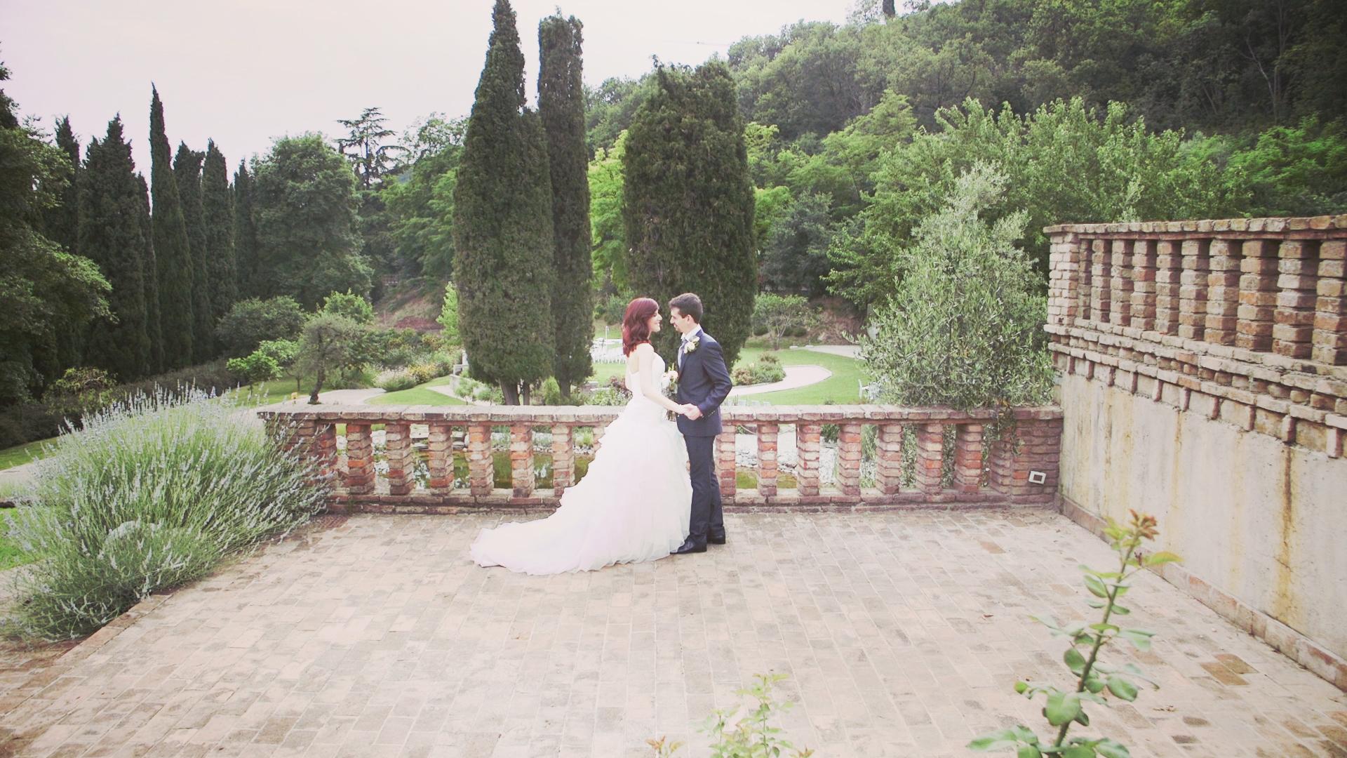Giulia e Andrea video matrimonio Padenghe Lago di Garda