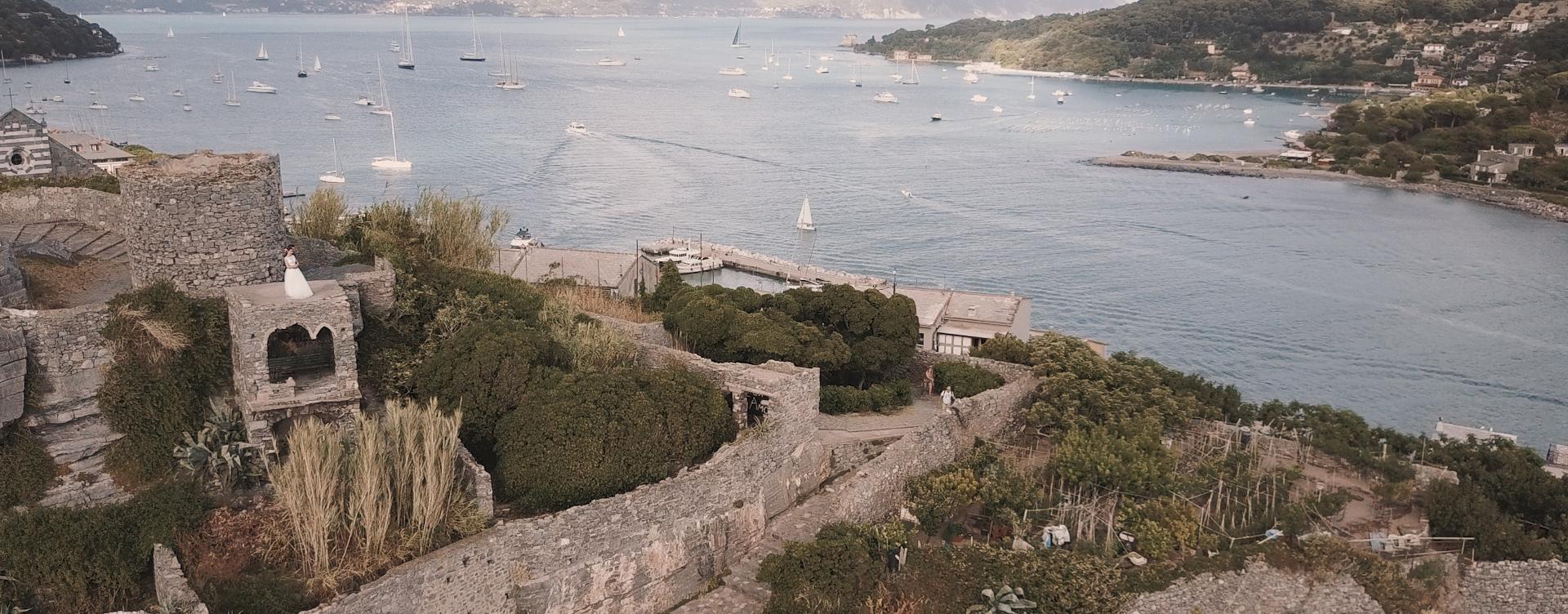 Matrimonio a Portovenere costiera ligure La Spezia Liliana e Andrea Highlights