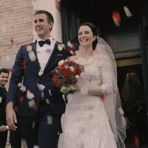 Annie and Tom destination wedding in Venice Whitesfilm videographer