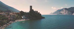 Destination wedding videographer Malcesine