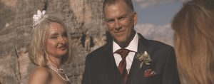 Life is a beautiful ride Elopement in Dolomiti Cortina d'Ampezzo wedding